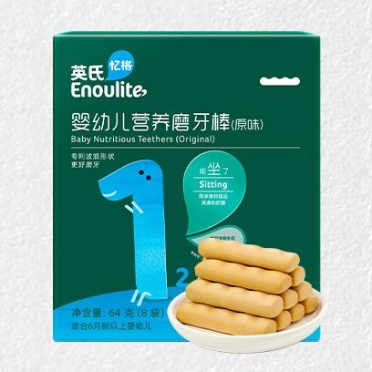 88VIP:Enoulite 英氏 婴幼儿营养磨牙棒 64g