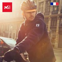 法国觅乐MILLET复古式防风抓绒衣男 保暖 登山外套日常款MIV7985