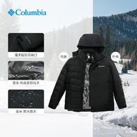 哥伦比亚21秋冬男子防水热能夹棉内胆三合一冲锋衣WE0900