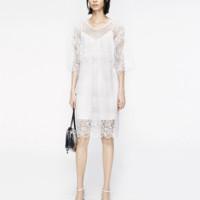 MO&Co. 摩安珂 女士蕾丝连衣裙