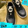 adidas 阿迪达斯 官网neo COURTMASTER男子休闲运动鞋FY8141 黑/深米色 42(260mm)