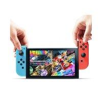 88VIP:Nintendo 任天堂 香港直发Nintendo/任天堂Switch掌上游戏机NS红蓝手柄续航增强版
