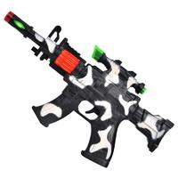 儿童玩具  电动灯光八音冲锋枪
