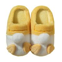 可爱棉拖鞋女秋冬季室内情侣家居冬天居家用月子鞋卡通毛绒保暖男