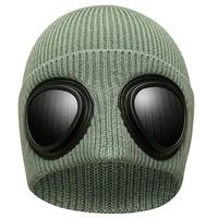 Skechers斯凯奇漫步系列2021秋冬新款男女个性毛线帽