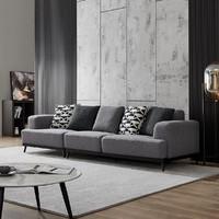QuanU 全友 102363 意式现代整装沙发 1+3