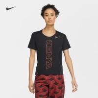 NIKE 耐克 Nike耐克官方TEAM KENYA CITY SLEEK女子跑步上衣速干反光CV0386