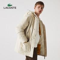 88VIP:LACOSTE 拉科斯特 情侣款连帽保暖羽绒服 BH1122