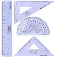 M&G 晨光 浅盐芝士系列 ARL960M8 (15cm直尺+三角尺*2+量角器+收纳盒)