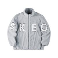 SKECHERS 斯凯奇 缤纷系列 女子针织外套 L321W219/01MZ 珍珠蓝 XL