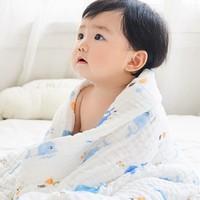Matern'ella 子初 婴儿纯棉纱布浴巾