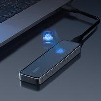 onemodern高速指纹加密移动固态硬盘PSSD