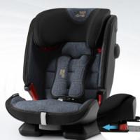 Britax 宝得适 汽车儿童安全座椅 9个月-12岁 全新百变骑士4代 牛仔蓝