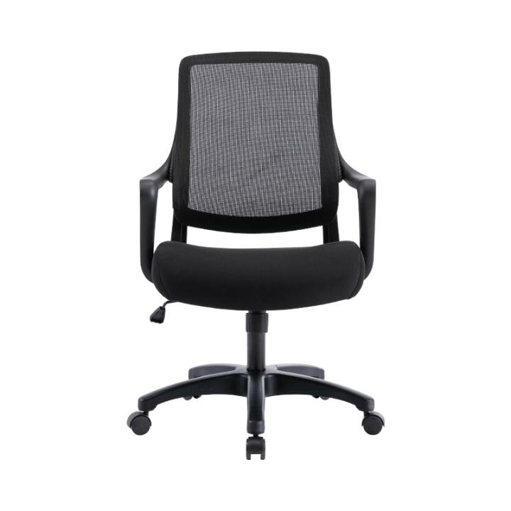 SMOOTH 简约人体工学抱腰椅 石墨黑