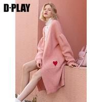 D·PLAY 德帕拉 DB1325017 女士针织开衫