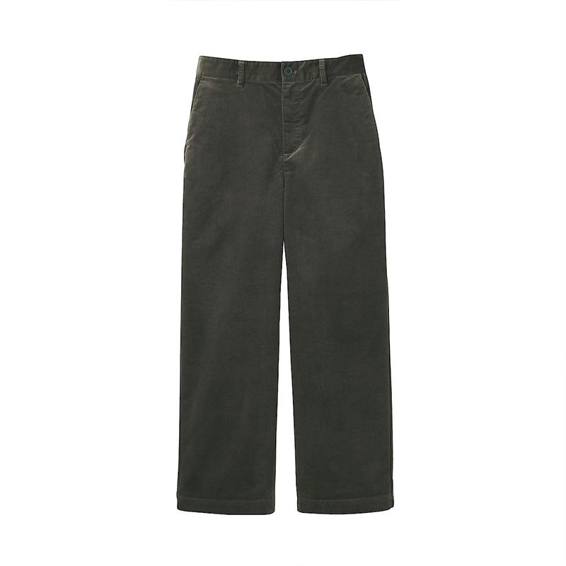 女式弹力灯芯绒宽版裤 BEE03C1A
