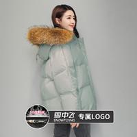 SNOWFLYING 雪中飞 女士长款羽绒服外套 X101431992FW4186