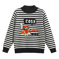 PLUS会员:MQD 马骑顿 儿童保暖针织衫