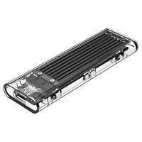 ORICO 奥睿科 M.2 SATA 移动硬盘盒 黑色
