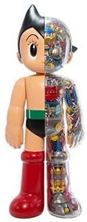 Prime会员:TOKYO BANANA Tokyo Toys 手冢治虫作品手办系列 铁臂阿童木 clearVer. 合金手办