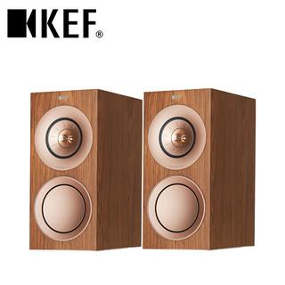 KEF R3 家庭影院音响  HIFI音箱 无源三分频书架箱 无源发烧级家用音箱 客厅音响套装 胡桃木