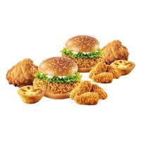 KFC 肯德基 电子券码 WOW周末友友餐兑换券