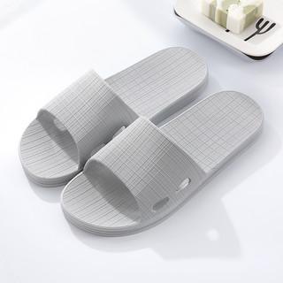 LETUO 乐拖 浴室拖鞋男士夏季家居塑料软底防滑居家用宾馆洗澡凉拖鞋夏天