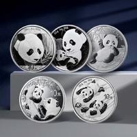 2022版中国熊猫银币 30克 999足银