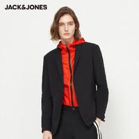 1日0点:JACK&JONES 杰克琼斯 男士商务纯色西服 220108511