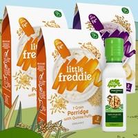 LittleFreddie 小皮 婴儿辅食高铁大米粉*3+有机核桃油*1