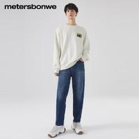 Meters bonwe 美特斯邦威 756320 男士牛仔裤