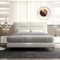 31日20点:Sleemon 喜临门 韦斯卡 现代卧室双人床 床托款 1.8*2m