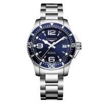 黑卡会员:LONGINES 浪琴 运动康卡斯潜水系列 男士自动上链腕表 L3.841.4.96.6