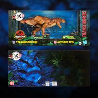 玩模总动员:Hasbro 孩之宝 变形金刚 侏罗纪公园限定联名 霸王龙福&特探险车