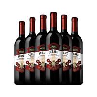 PLUS会员:SUBARU 苏帕瑞 君漫 干红葡萄酒 750ml*6瓶 整箱装