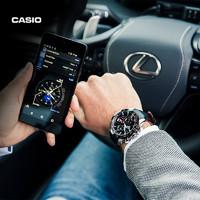CASIO 卡西欧 旗舰店EQB-800BL防水气质商务手表男士官网官方正品EDIFICE