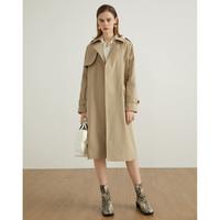 La Chapelle 拉夏贝尔 女士系带风衣外套