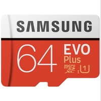 SAMSUNG 三星 EVO Plus系列 Micro-SD存储卡 64GB