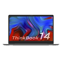 ThinkPad 思考本 ThinkBook 14 锐龙版(BGCD) 2021款 14英寸轻薄笔记本(R5 5600U 16G 512G 高色域 Win11)