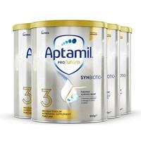 黑卡会员:Aptamil 爱他美 澳洲白金版婴儿配方奶粉3段 900g 4罐装