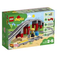 LEGO 乐高 得宝系列 10872 火车桥梁与轨道