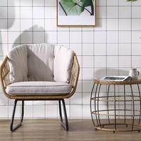 QuanU 全友 DX108028 单人休闲沙发椅+茶几