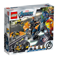 LEGO 乐高 超级英雄系列 76143 复仇者联盟大战武装卡车