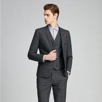有券的上:SELECTED 思莱德 42015Y505 男士格子修身西装