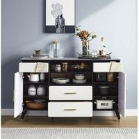 新品发售:林氏木业 LS173T1-A31 大理石纹实木储物柜