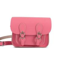 银联专享:Gweniss 格温妮丝 Freya 迷你剑桥包 Bright Pink