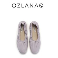 OZLANA  UGG 女士光面羊皮云朵鞋