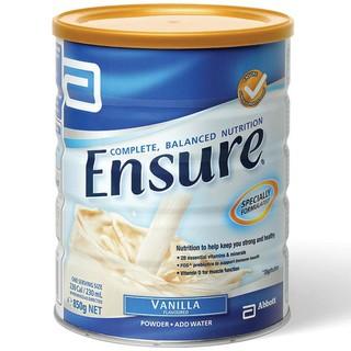 再降价 : ENSURE 安素蛋白粉营养奶粉 香草味 850g