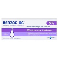 银联爆品日:Benzac 5%温和控油去痘凝胶 50g