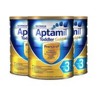 银联专享:Aptamil 爱他美 金装婴幼儿配方奶粉3段 900g*3